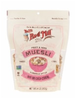 Bob's Red Mill Fruit & Seed Muesli European Style Hot or Cold Cereal