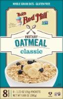Bob's Red Mill Classic Gluten Free Instant Oatmeal Packets - 8 ct / 1.23 oz