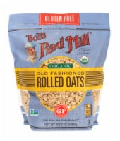 Bob's Red Mill Organic Gluten Free Old Fashioned Rolled Oats