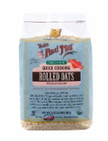 Bob's Red Mill Organic Quick Cooking Whole Grain Rolled Oats