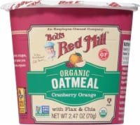 Bob's Red Mill Organic Cranberry Orange Oatmeal