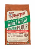 Bob's Red Mill Organic 100% Stone Ground Whole Wheat Flour