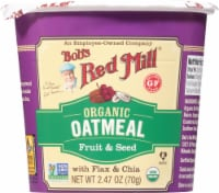 Bob's Red Mill Organic Fruit & Seed Oatmeal