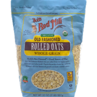 Bob's Red Mill Organic Old Fashioned Whole Grain Rolled Oats