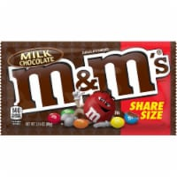 M&M's Milk Chocolate Candy Share Size