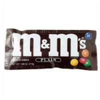 M&M's Plain 1.69 oz. Candy 118599 Pack of 36 - 1.69 Oz.