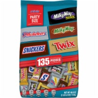 SNICKERS TWIX 3 MUSKETEERS MILKY WAY & MILKY WAY Midnight Minis Size Chocolate Bars Mix