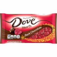 DOVE PROMISES Valentines Day Dark Chocolate Valentine Candy Hearts Bag