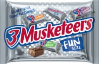3 Musketeers Fun Size Chocolate Candy Bars
