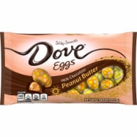 DOVE Easter Candy Milk Chocolate Peanut Butter Egg-Shaped Candy Bag