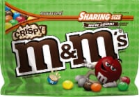 M&M's Crispy Chocolate Candies Sharing Size Bag