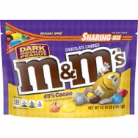 M&M's Dark Chocolate Peanut Candies Sharing Size Bag