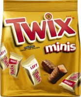 Twix Minis Size Chocolate Cookie Bars