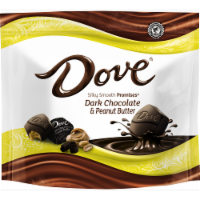 Dove Promises Peanut Butter And Dark Chocolate Candy