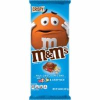 M&M's Minis & Crisp Rice Milk Chocolate Bar - 3.8 oz
