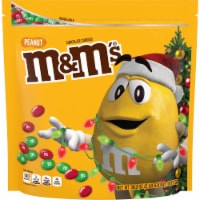 M&M's Holiday Peanut Chocolate Candy