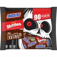 Mars Snickers Skittles & M&M's Candy Variety Pack - 90 ct