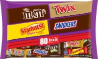 Mars Halloween Mixed Chocolate Candy Bag 80 Count