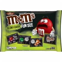 M&M's Fun Size Milk Chocolate Candies Glow in the Dark Trick-or-Treat-Packs