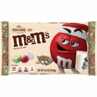 M&M'S Holiday White Chocolate Sugar Cookie Christmas Candy