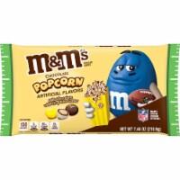 M&M's Milk Chocolate Popcorn Crisp Rice Center Halloween Candy - 7.44 oz