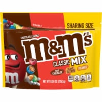 M&M's Classic Mix Chocolate Candy Sharing Size Bag - 8.3 oz
