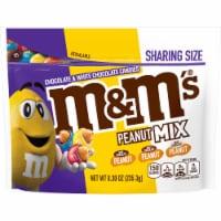 M&M's Peanut Mix Chocolate Candy Sharing Size Bag - 8.3 oz