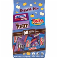 Mars Dessert Mix Assorted Halloween Candy - 50 ct