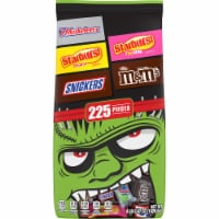 Mars Mixed Chocolate and Chewy Halloween Candy Variety Bag - 225 ct
