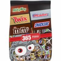 Mars Mixed Chocolate Halloween Candy Variety Bag - 365 ct