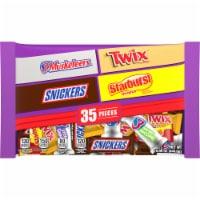 Mars Mixed Chocolate & Sugar Assorted Halloween Candy - 35 ct
