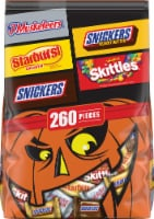 Mars Mixed Chocolate and Sugar Halloween Candy Variety Pack - 260 ct