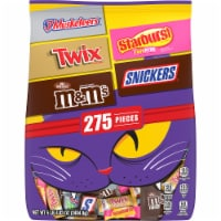 Mars Mixed Chocolate and Chewy Halloween Candy Variety Bag - 275 ct