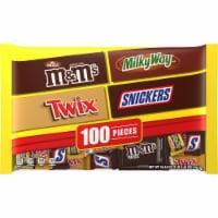 Mars Mixed Chocolate Halloween Candy Variety - 100 ct