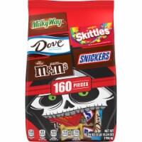 Mars Chocolate Halloween Candy Variety Bag - 160 ct