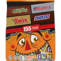 Mars Chocolate Halloween Candy Variety Bag - 155 ct