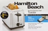 Hamilton Beach 2 Slot Brushed Stainless Steel Toaster
