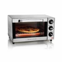 Hamilton Beach 31401 4-Slice Stainless Toaster Oven