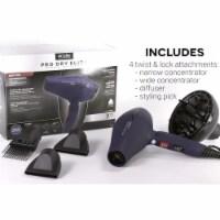 Andis 81015 1600 watt Professional Pro Dry Tourmaline Ionic Styling Hair Dryer, Blue - 1