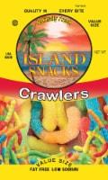 Island Snacks Crawlers Gummy Worms