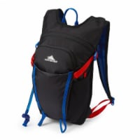 High Sierra Hydrahike 2.0 8L Youth Hydration Backpack for Hiking, Blue/Black - 1 Piece