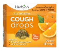 Herbion All Natural Cough Drops - Orange