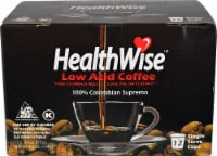 HealthWise Low Acid Coffee Single Serve Cups - 12 ct