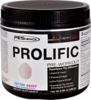 PEScience Prolific Cotton Candy Pre-Workout - 9.88 oz