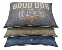 Dallas 040246012948 30 x 40 in. Pillow Dog Bed