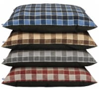 Dallas Plaid Pet Pillow - Assorted
