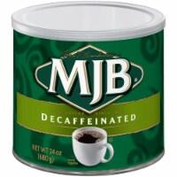 MJB Decaffeinated Ground Coffee