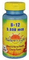 Nature's Life Cherry B-12 Lozenges