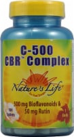 Nature's Life C-500 CBR Complex Tablets 500 mg