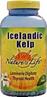 Nature's Life Icelandic Kelp 500 mg Tablets